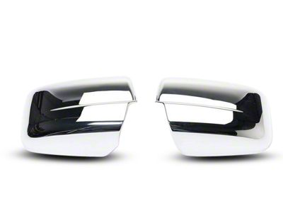 Putco Chrome Mirror Covers (09-12 RAM 1500 w/ Standard Mirrors)