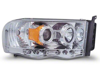 Axial Chrome Halo Projector Headlights (02-05 RAM 1500)