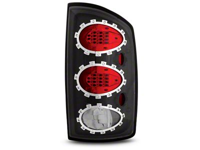 Alteon Bermuda Black LED Tail Lights (02-06 RAM 1500, Excluding Mega Cab)