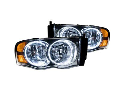 Oracle Chrome OE Style Headlights w/ SMD LED Halos (02-05 RAM 1500)