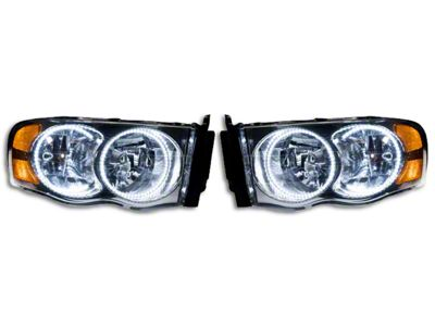 Oracle Chrome OE Style Headlights w/ Plasma LED Halos (02-05 RAM 1500)