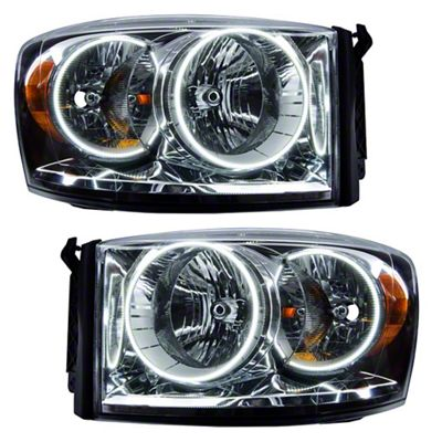 Oracle Chrome OE Style Headlights w/ CCFL Halos (07-08 RAM 1500)