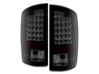 Axial Black Smoked LED Tail Lights (07-08 RAM 1500)