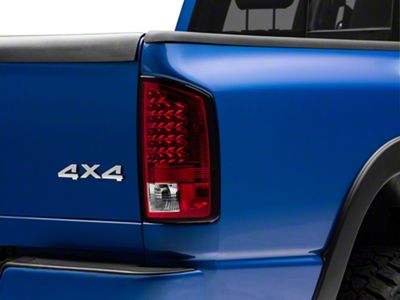 Axial Red Clear LED Tail Lights (07-08 RAM 1500)