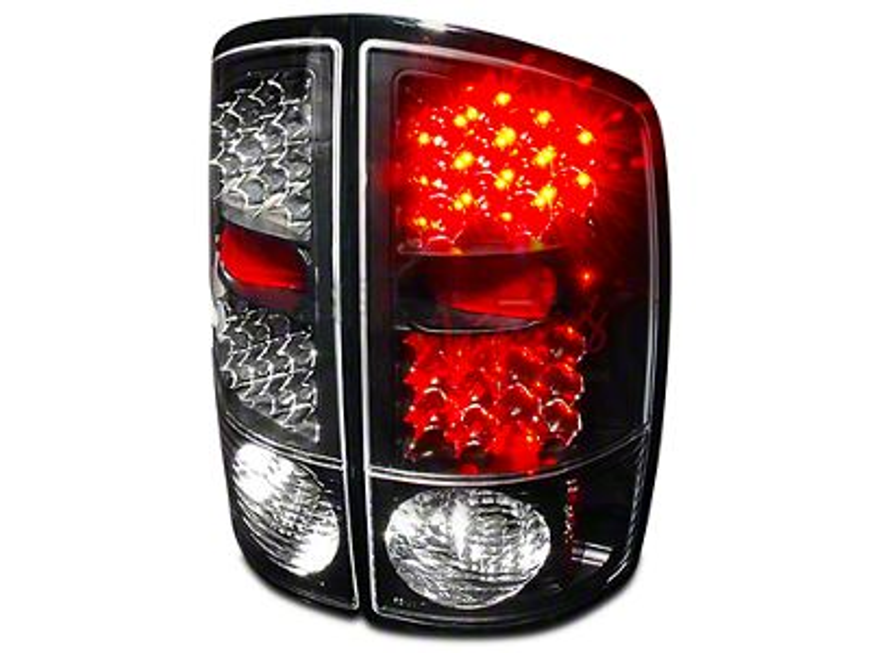 Axial Black LED Tail Lights (02-06 RAM 1500)