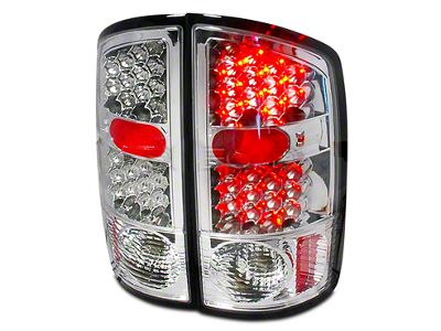 Axial Chrome LED Tail Lights (02-06 RAM 1500)