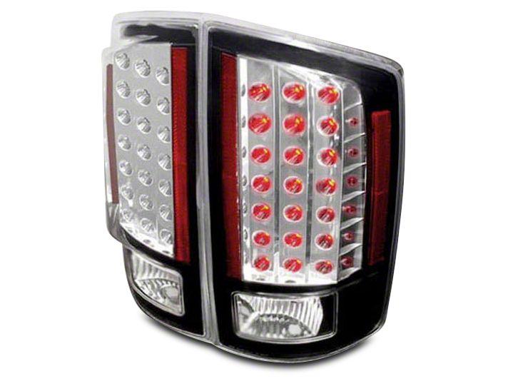 Axial Chrome LED Tail Lights (07-08 RAM 1500)