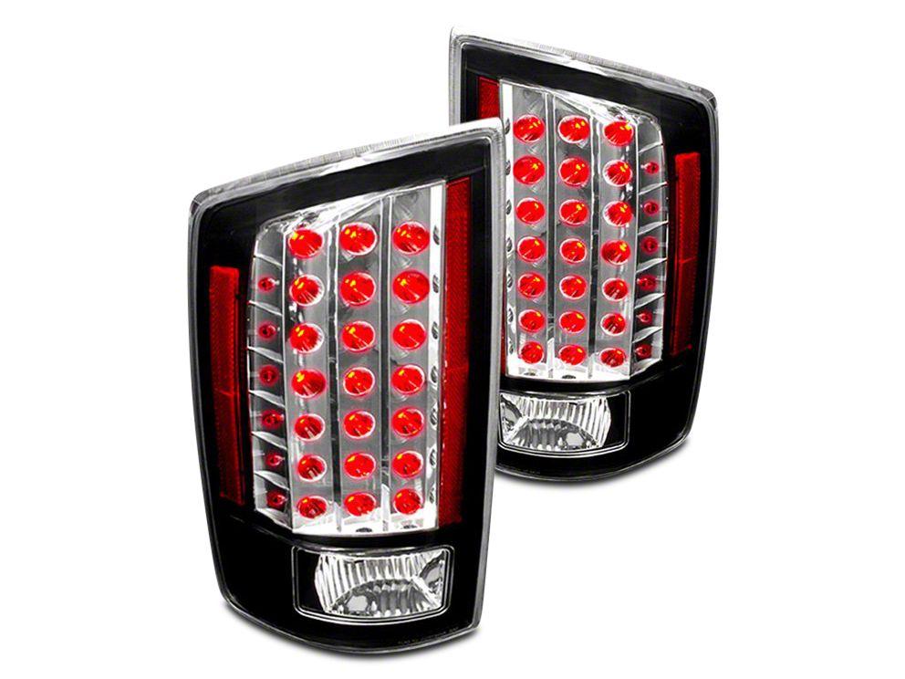 Axial Black LED Tail Lights (07-08 RAM 1500)