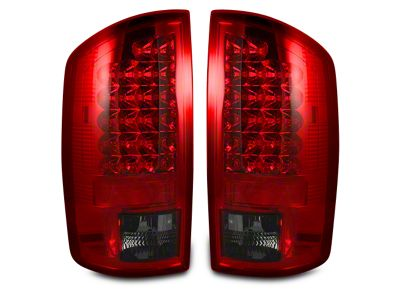 Recon LED Tail Lights - Red Smoked Lens (02-06 RAM 1500)