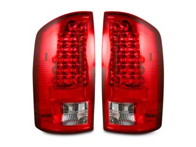 Recon LED Tail Lights - Red Lens (02-06 RAM 1500)