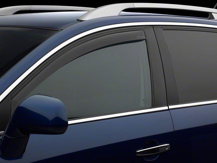 Weathertech Front Side Window Deflectors - Dark Smoke (02-08 RAM 1500)