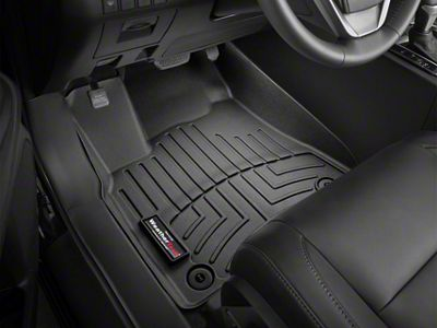 Weathertech DigitalFit Front & Rear Floor Liners - Black (02-08 RAM 1500 Quad Cab, Mega Cab w/ Automatic Transmission)
