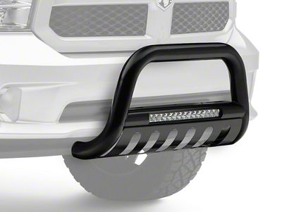 Steel Craft Bull Bar w/ 20 in. LED Light Bar (09-18 RAM 1500, Excluding Rebel)