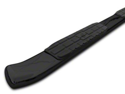Steel Craft 4X Series 4 in. Oval Side Step Bars - Black (09-18 RAM 1500 Quad Cab, Crew Cab)