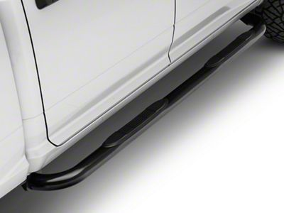 Steel Craft 3 in. Blackout Series Side Step Bars (09-18 RAM 1500 Quad Cab, Crew Cab)