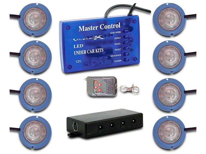Vision X Tantrum LED Rock Light - Blue