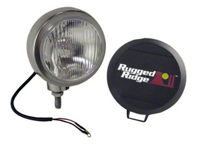 Rugged Ridge 6 in. Round HID Off-Road Fog Light - Single