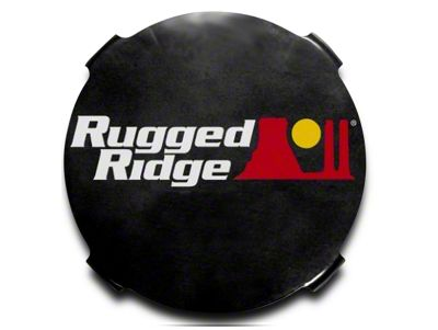 Rugged Ridge 7 in. HID Off-Road Light Covers - Black