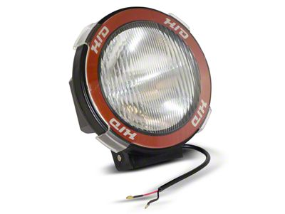 Rugged Ridge 5 in. Round HID Off-Road Fog Light w/ Black Composite Housing - Single