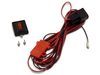 Rugged Ridge Wiring Harness for Two HID Off-Road Fog Lights (02-19 RAM 1500)