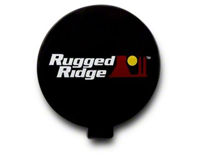 Rugged Ridge 6 in. Off-Road Light Cover - Black