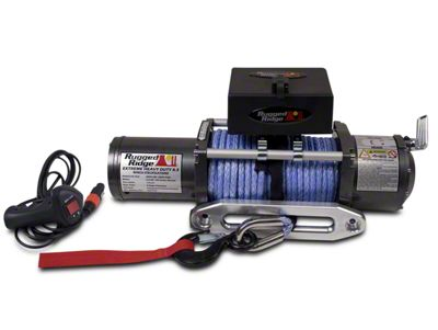 Rugged Ridge Performance 8,500 lb. Winch w/ Synthetic Rope (02-18 RAM 1500)