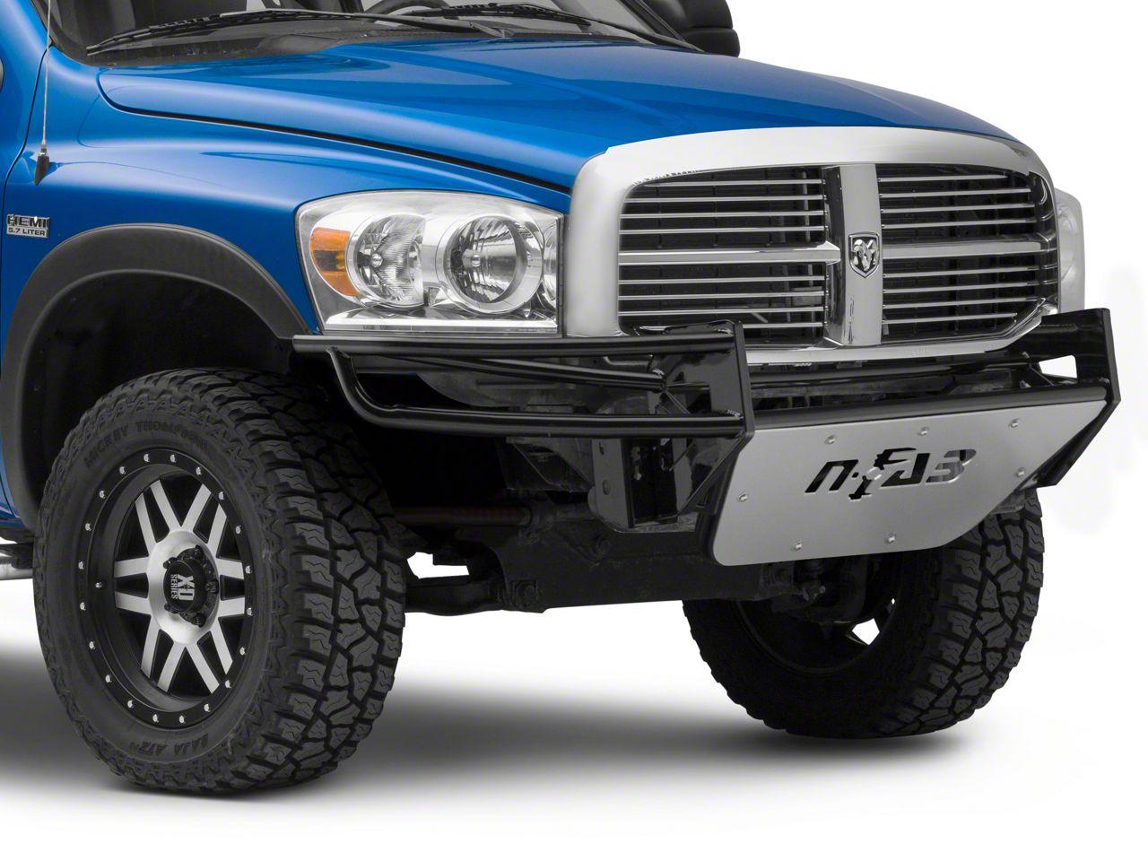 N-Fab R.S.P. Pre-Runner Front Bumper - Gloss Black (02-08 RAM 1500 Regular Cab, Quad Cab)