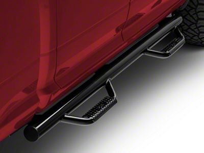 N-Fab Cab Length Nerf Side Step Bars - Gloss Black (09-18 RAM 1500)