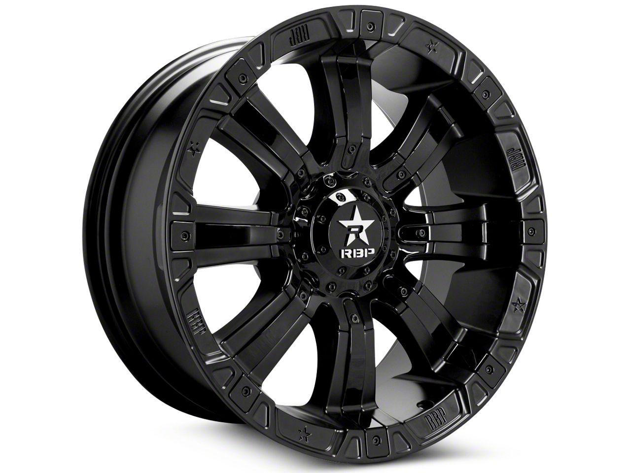 RBP 96R Black Machined 5-Lug Wheel - 20x9 (02-18 RAM 1500, Excluding Mega Cab)