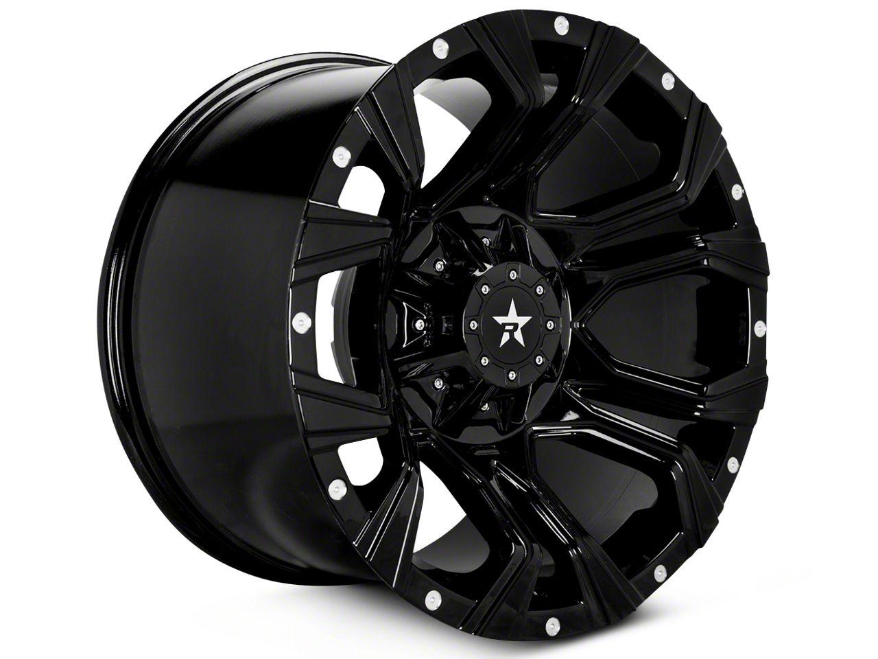 RBP 64R Widow Black Machined 5-Lug Wheel - 18x9 (02-18 RAM 1500, Excluding Mega Cab)