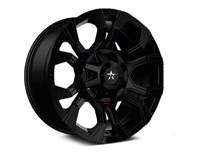 RBP 64R Widow Full Black 5-Lug Wheel - 20x10 (02-18 RAM 1500, Excluding Mega Cab)