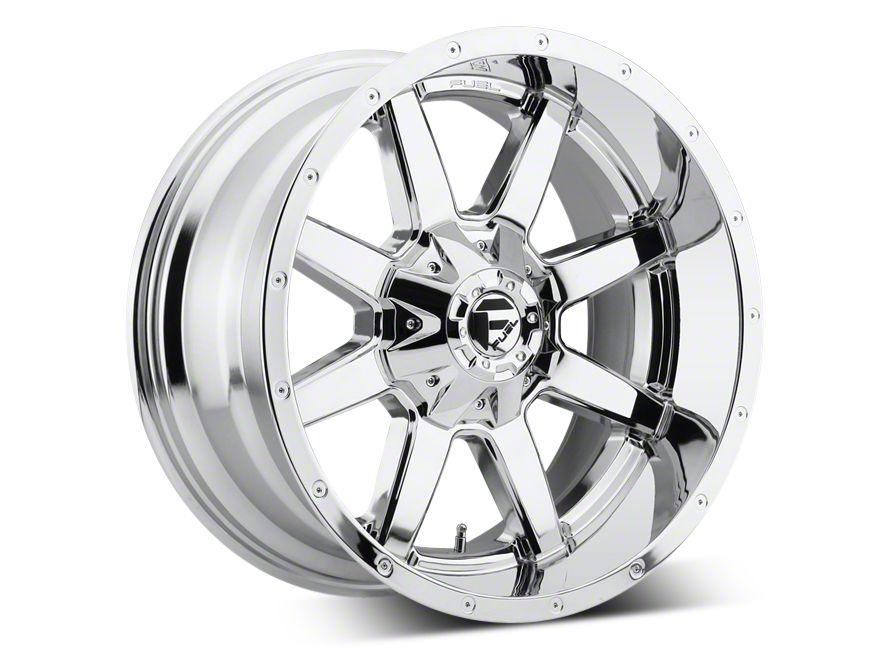 Fuel Wheels Maverick Chrome 5-Lug Wheel - 22x10 (02-18 RAM 1500, Excluding Mega Cab)