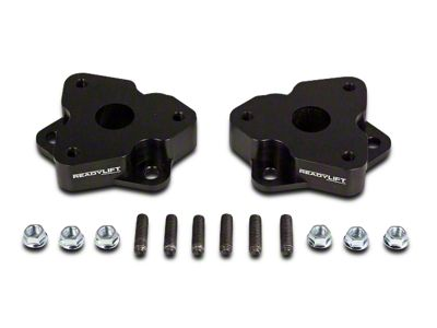 ReadyLIFT 2 in. T6 Billet Leveling Kit - Anodized Black (06-18 4WD RAM 1500 w/o Air Ride Suspension)