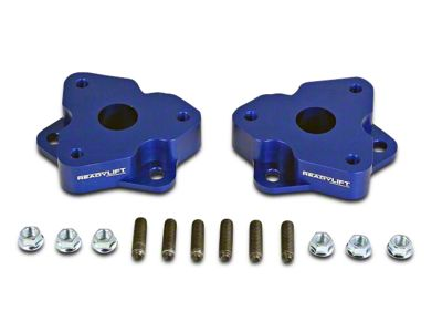 ReadyLIFT 2 in. T6 Billet Leveling Kit - Anodized Blue (06-18 4WD RAM 1500 w/o Air Ride Suspension)