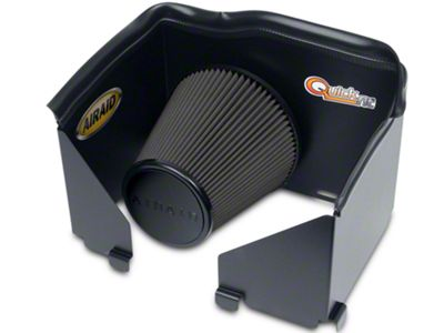 Airaid QuickFit Air Dam w/ Black SynthaMax Dry Filter (02-05 3.7L RAM 1500)