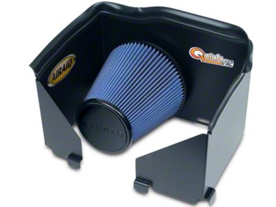 Airaid QuickFit Air Dam w/ Blue SynthaMax Dry Filter (02-05 3.7L RAM 1500)