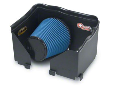 Airaid QuickFit Air Dam w/ Blue SynthaMax Dry Filter (06-08 3.7L RAM 1500)
