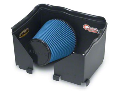 Airaid QuickFit Air Dam w/ Blue SynthaMax Dry Filter (06-08 4.7L RAM 1500)