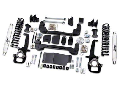 Zone Offroad 6 in. Suspension Lift Kit w/ Shocks (2012 4WD RAM 1500)