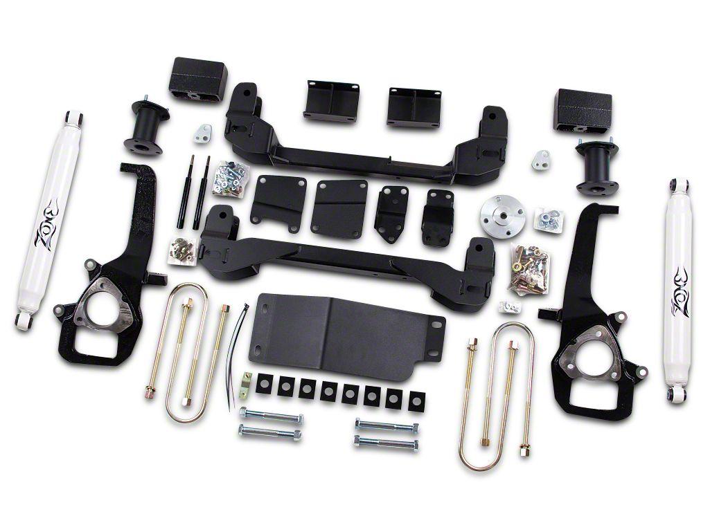 Zone Offroad 4 in. Suspension Lift Kit w/ Shocks (06-08 4WD RAM 1500)