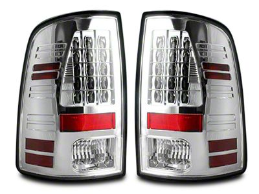 LED Tail Lights - Clear Lens (09-18 RAM 1500)