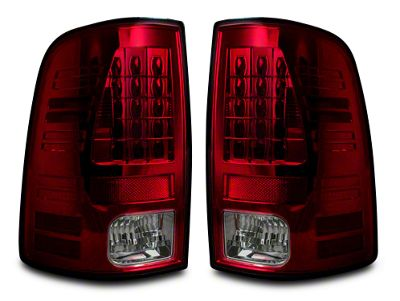 LED Tail Lights - Red Smoked Lens (09-18 RAM 1500)