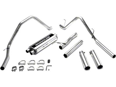 Magnaflow MF Series Dual Exhaust System - Rear Exit (03-07 5.7L RAM 1500)