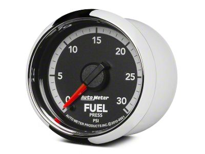 Auto Meter Factory Match Fuel Pressure Gauge - 0-30 PSI - Digital Stepper Motor (09-18 RAM 1500)
