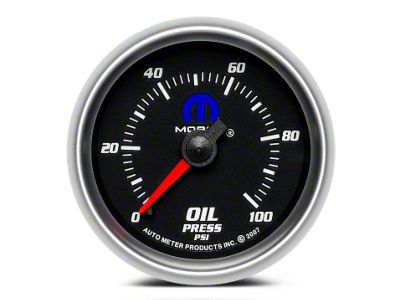 Mopar Oil Pressure Gauge - Mechanical (02-19 RAM 1500)