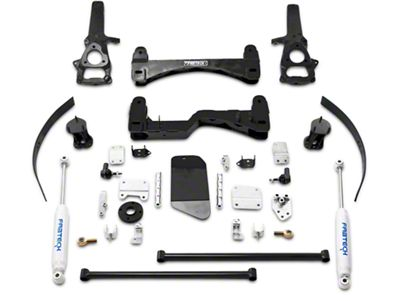 Fabtech 6 in. Basic Lift System w/ Shocks (06-08 4WD RAM 1500)