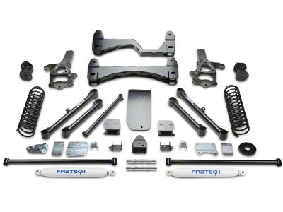 Fabtech 6 in. Basic Lift System w/ Shocks (09-12 4WD RAM 1500)
