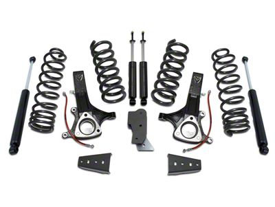 Max Trac MaxPro 7 in. Front / 4.5 in. Rear Lift Kit w/ Shocks (09-18 2WD V8 RAM 1500 w/o Air Ride)