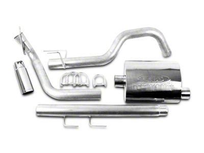 CGS Motorsports Stainless Single Exhaust System - Side Exit (02-05 5.9L RAM 1500)