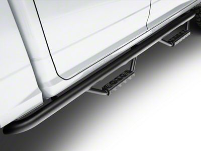 RBP RX-7 Wheel to Wheel Side Step Bars - Black (09-18 RAM 1500 Quad Cab, Crew Cab)